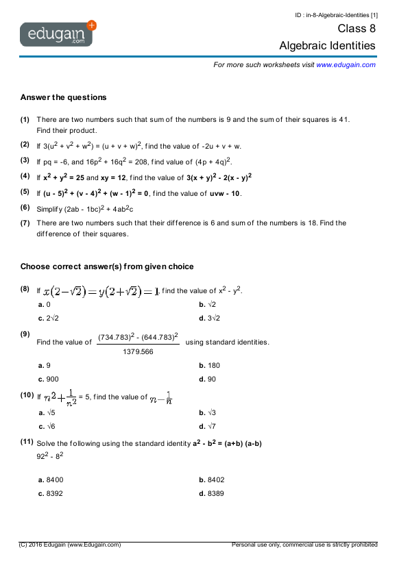 Worksheet 693845 Year 3 Maths Worksheets Australia Grade 3 – Year 12 Maths Worksheets